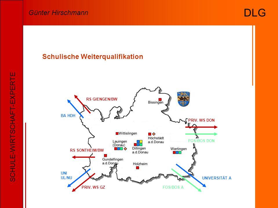 Schulische Weiterqualifikation FOS/BOS DON RS SONTHEIM/BW UNIVERSITÄT A FOS/BOS A PRIV.