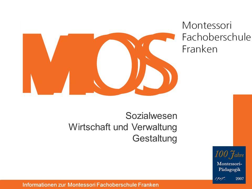 Informationen zur Montessori Fachoberschule Franken Sozialwesen Wirtschaft und Verwaltung Gestaltung