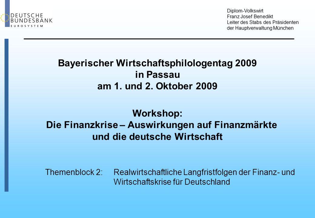 Auftragseingänge Deutschland Schaubild 1 Saison- und preisbereinigt, geglättet Von Juli 2008 bis Juli 2009: - 19,9 % Von Juli 2008 bis Juli 2009: - 30,8 % Von Juni 2008 bis Juni 2009: - 6,0 %