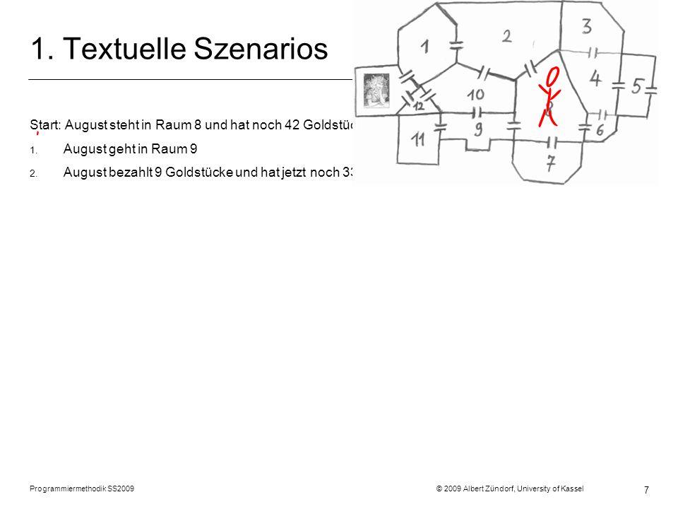 Programmiermethodik SS2009 © 2009 Albert Zündorf, University of Kassel 8 Rette Ada objektorientiert
