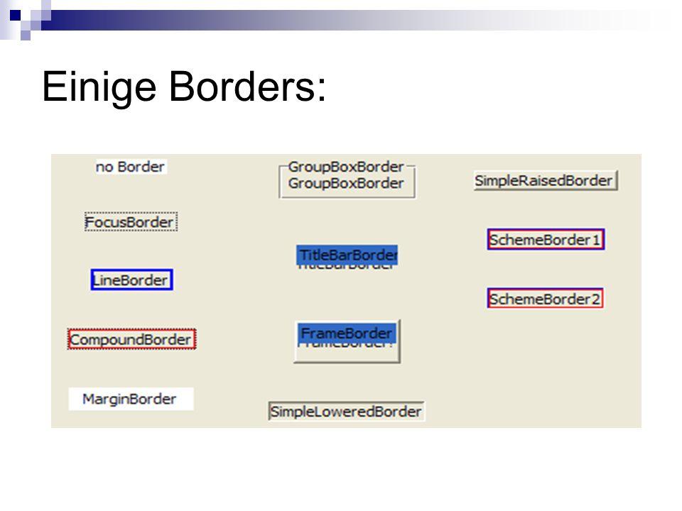 Einige Borders: