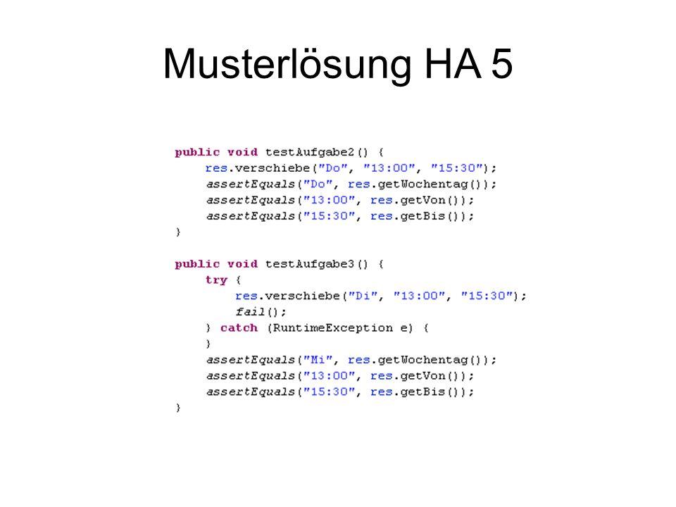 Musterlösung HA 5