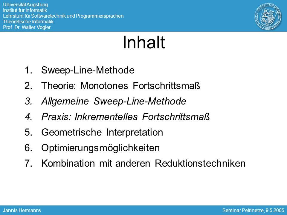 Universität Augsburg Institut für Informatik Lehrstuhl für Softwaretechnik und Programmiersprachen Theoretische Informatik Prof.