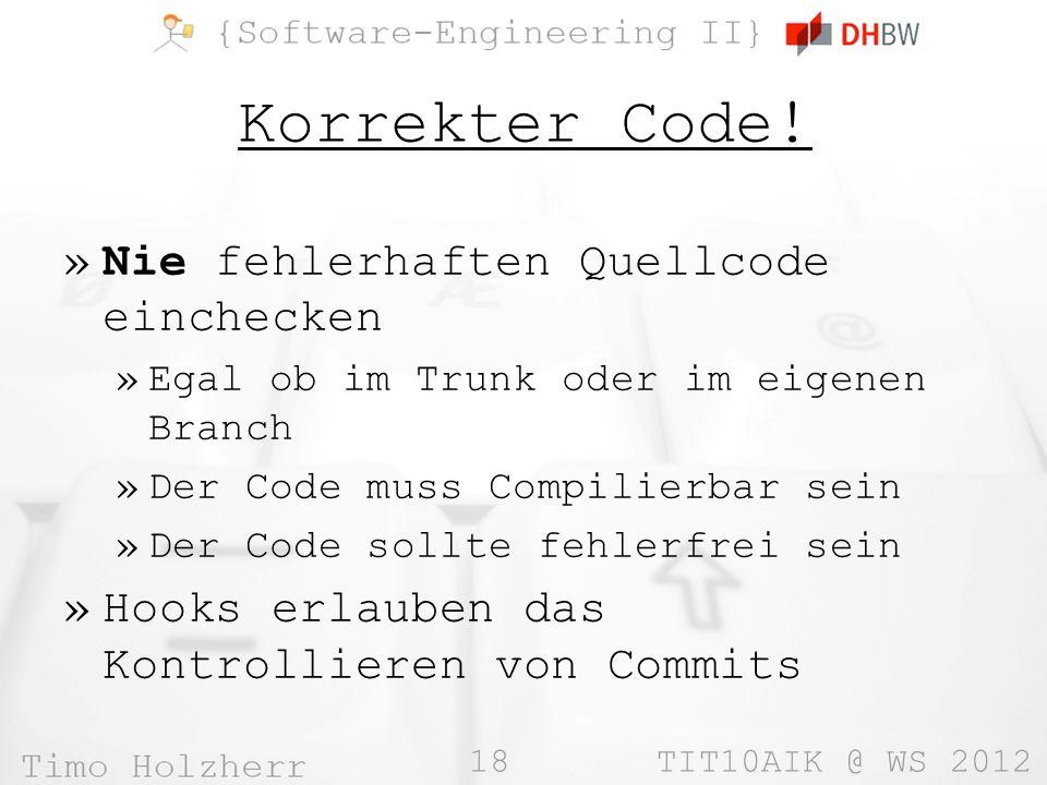 18 TIT10AIK @ WS 2012 Korrekter Code.