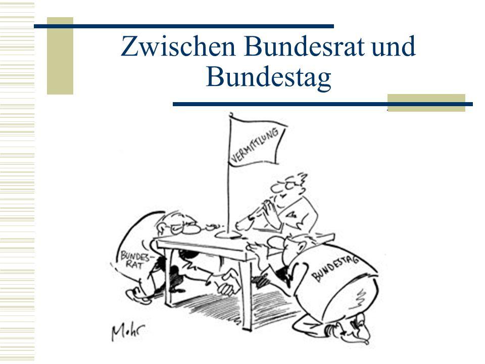 Zwischen Bundesrat und Bundestag