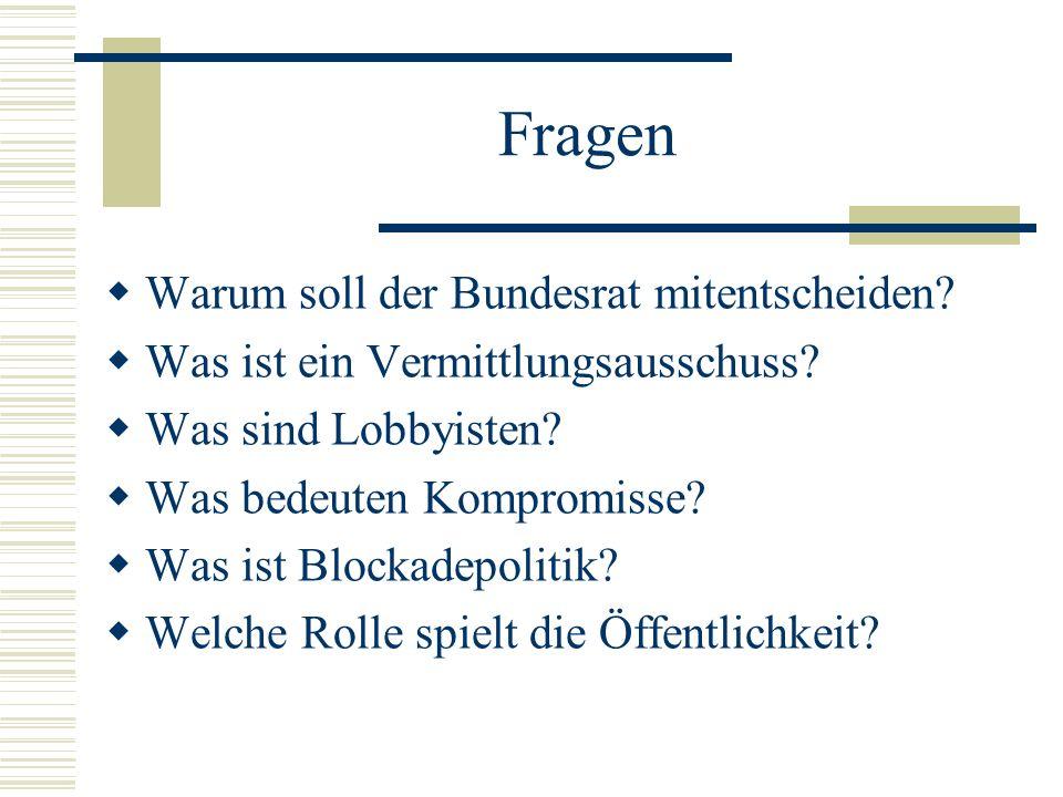 Zweiter Durchgang im Bundesrat: Jedes vom Bundestag beschlossene Gesetz wird nochmals vom Bundesrat geprüft.