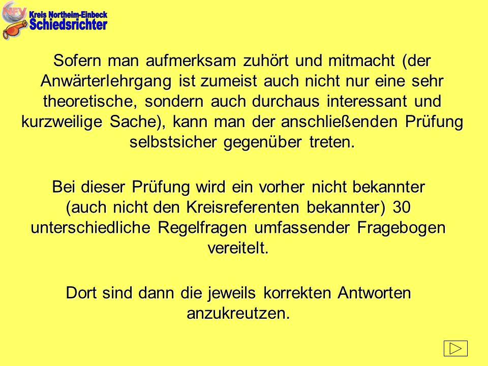 Nach dem Motto: Nicht meckern, sondern pfeifen oder aber auch: Pfiffige Leute gesucht, ruft der Kreis-Schiedsrichter-Ausschuss Northeim-Einbeck alle männlichen und weiblichen Interessierten auf, sich über ihren jeweiligen Sportverein oder aber auch gleich direkt beim Kreis-Schiedsrichter-Ausschuss, Hagenstraße 14, 37574 Einbeck für den nächsten SR-Lehrgang zu melden.