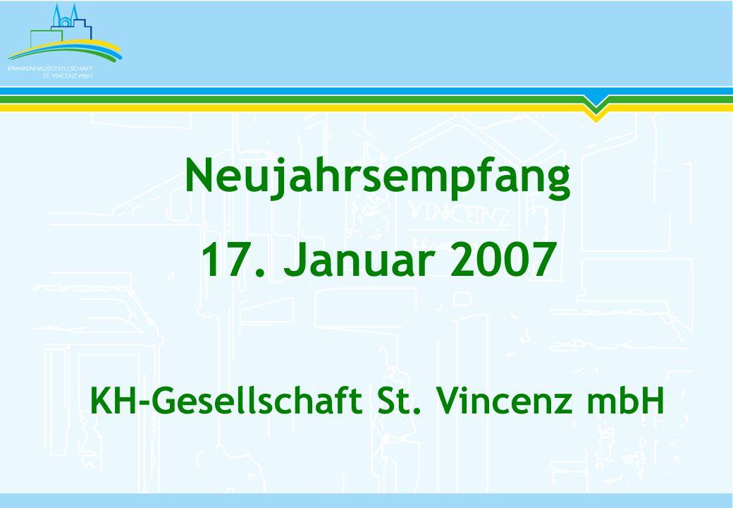 Wesentliche Entwicklungen 2006