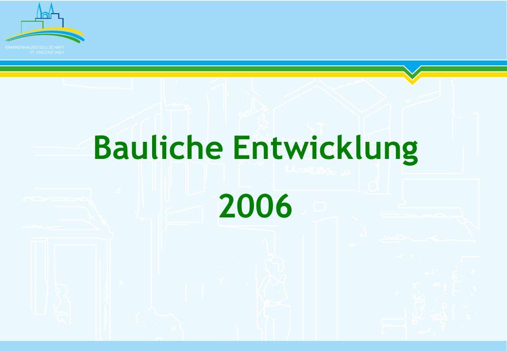 Bauliche Entwicklung 2006