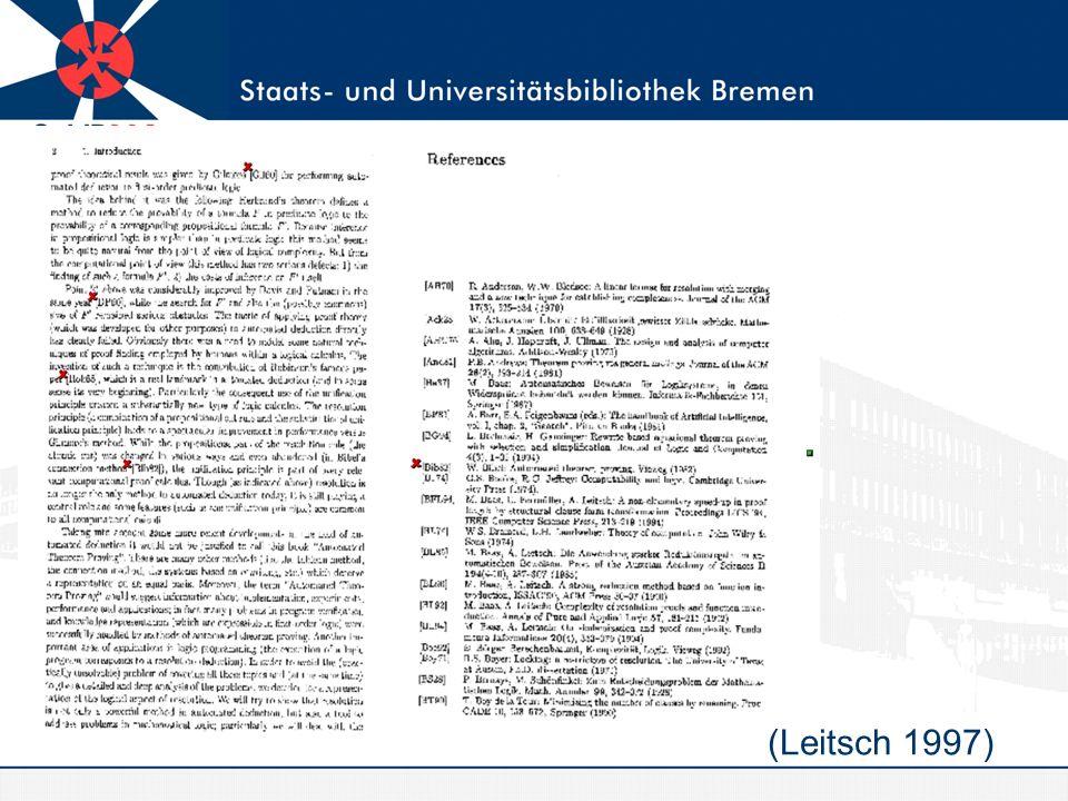 Beispiel AMS (Leitsch 1997)