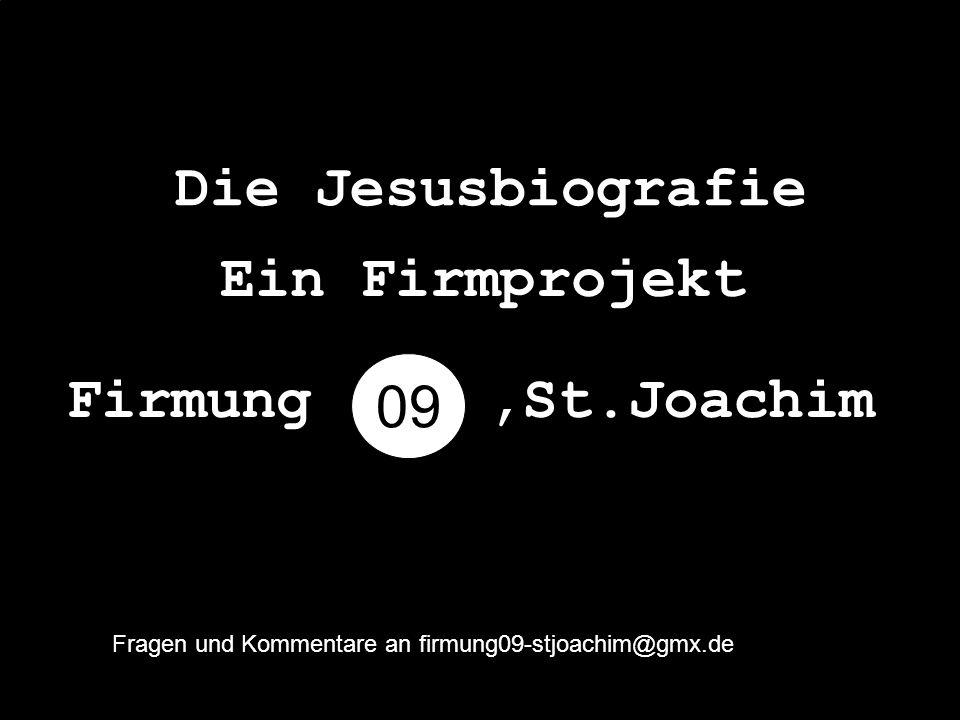 Name: Jesus Berufung: Messias Erlöser der Welt