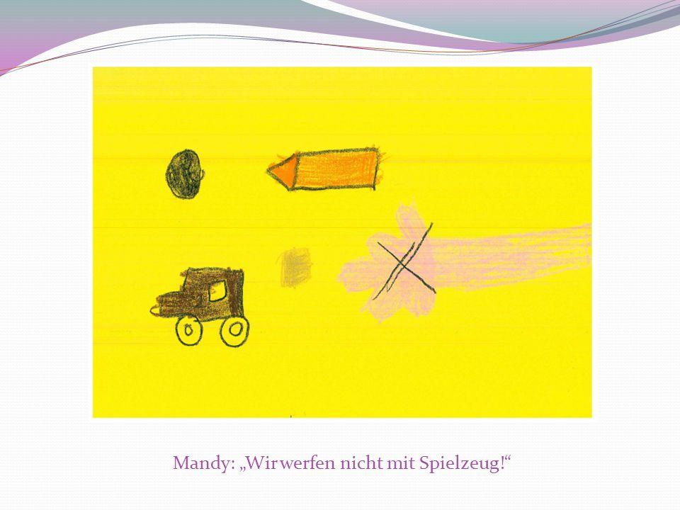 Mandy: Wir werfen nicht mit Spielzeug!