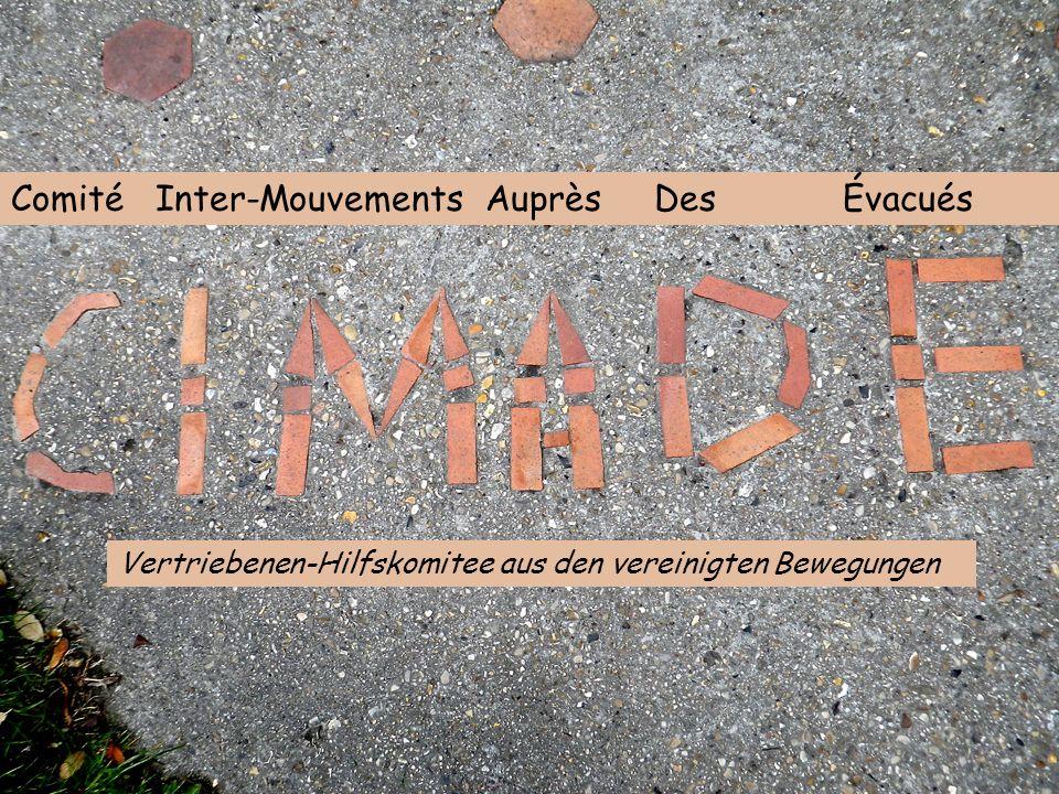 Comité Inter-Mouvements Auprès Des Évacués Vertriebenen-Hilfskomitee aus den vereinigten Bewegungen