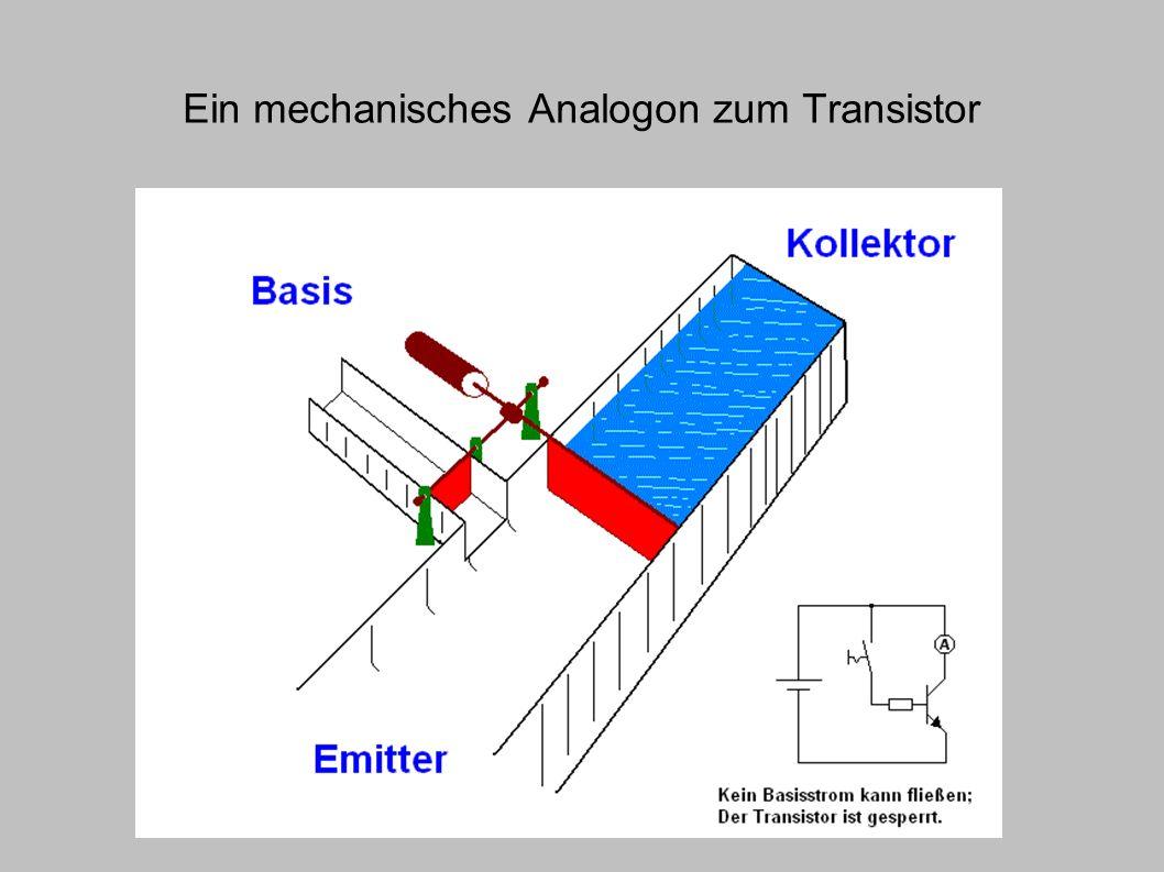 Ein mechanisches Analogon zum Transistor