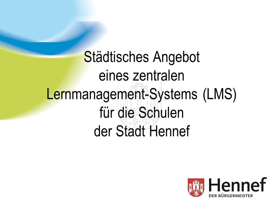 Stadt Hennef, IT-Abt., W.Rossenbach (MBA) Schulen, Schulträger und neue Medien Stadt Hennef hat ca.