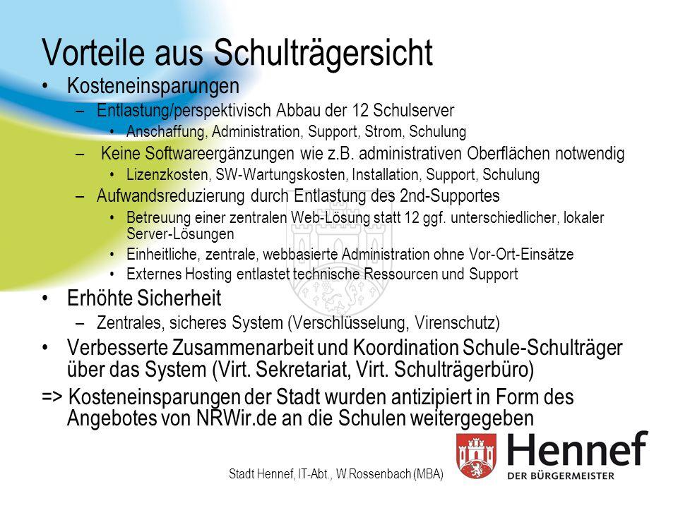 Vorteile für Schulen und Schüler Das einheitliche LMS von Grundschule bis zum Abitur (ggf.