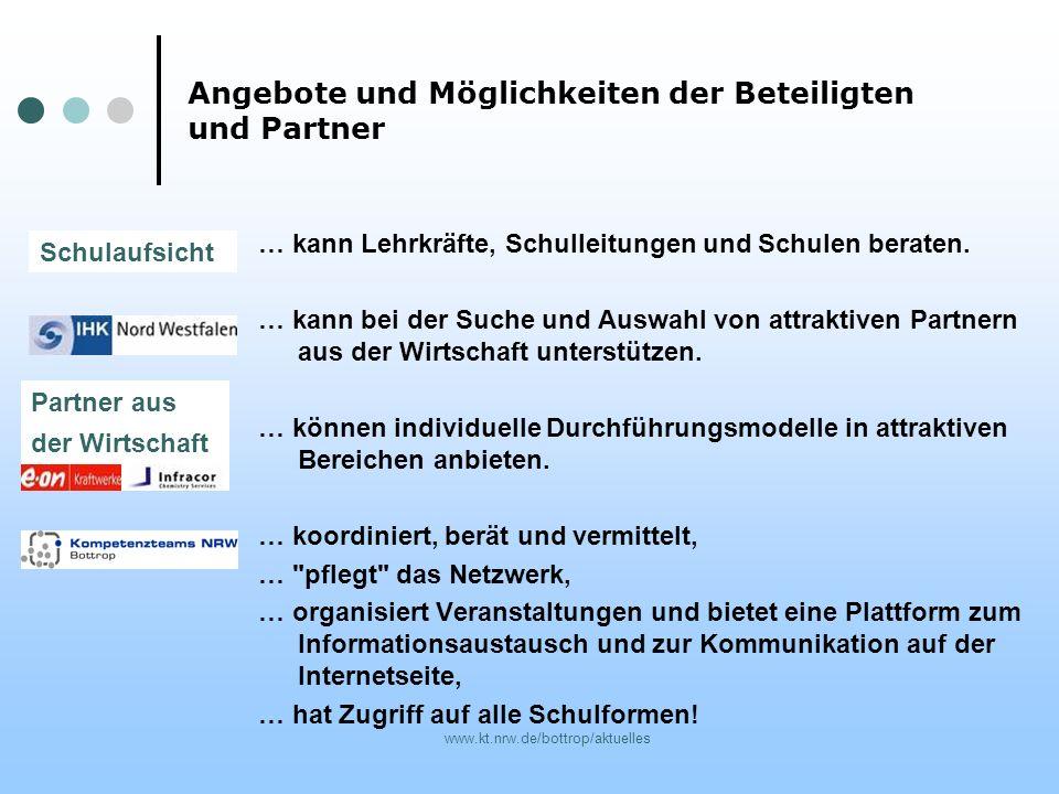 www.kt.nrw.de/bottrop/aktuelles … kann Lehrkräfte, Schulleitungen und Schulen beraten. … kann bei der Suche und Auswahl von attraktiven Partnern aus d