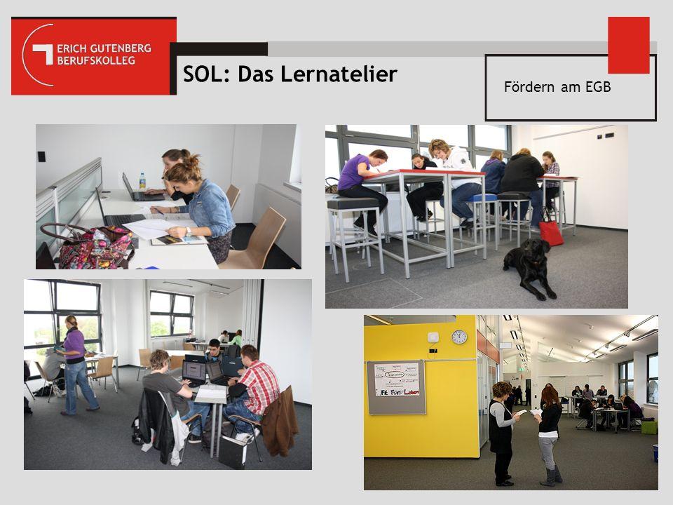 Fördern am EGB SOL: Das Lernatelier