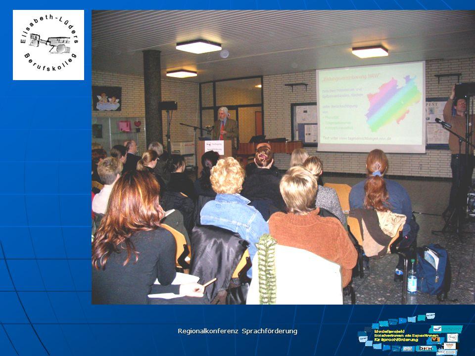 Regionalkonferenz Sprachförderung Elisabeth-Lüders- Berufskolleg Hamm