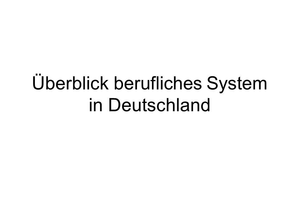 Ersteingliederung - Überblick InstitutionBeschreibung Schulen Berufsorientierung (BO) Berufsschulen Berufsvorbereitung (BV) bzw.