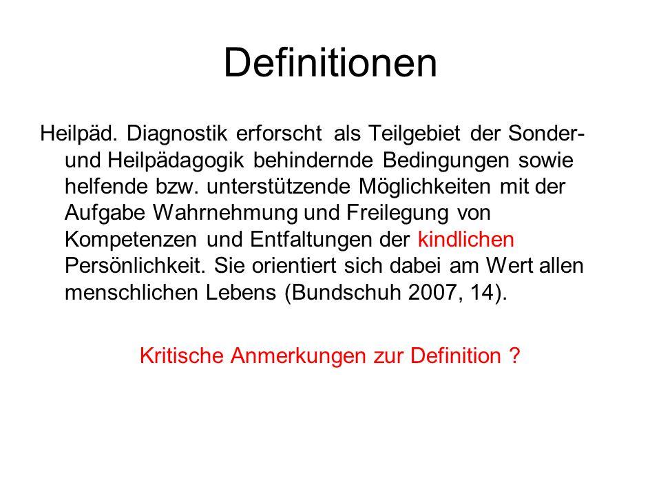 Definitionen Heilpäd.