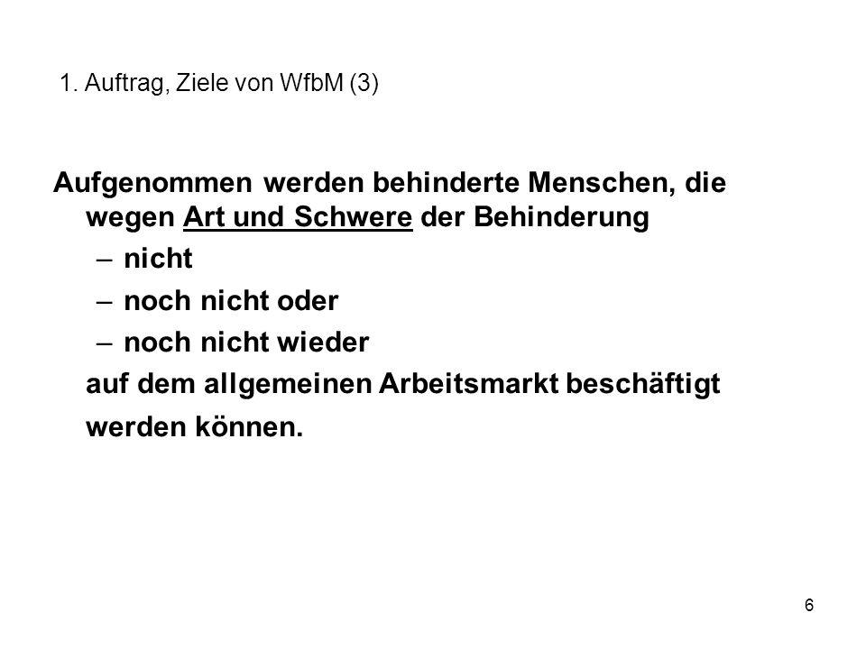 27 Landesarbeitsgemeinschaft der Werkstätten für behinderte Menschen e.V.