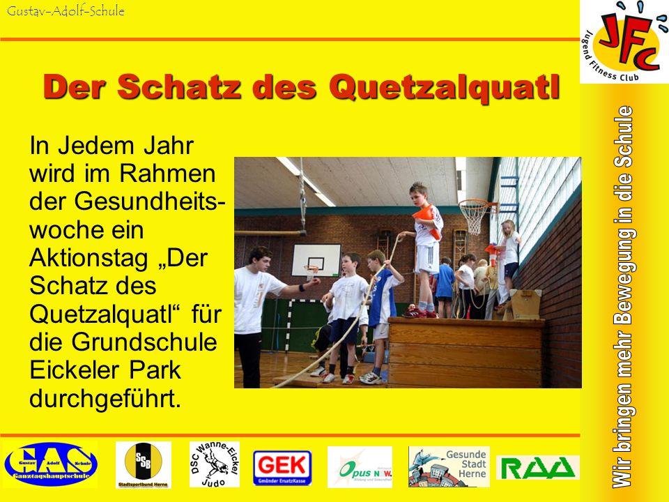 Gustav-Adolf-SchuleStunt-Schule 2003 besuchten 25 Schüler/innen die Stunt-Schule Cam-Concept in Wuppertal. Seitdem gehört Stunt- Training zum Standard
