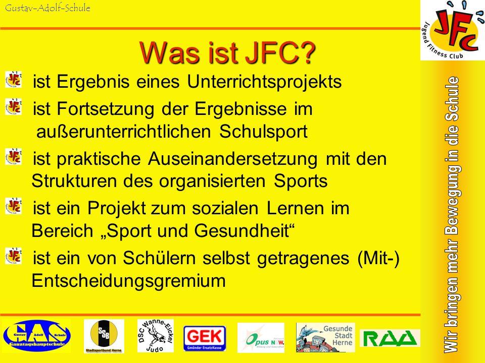 Gustav-Adolf-SchuleKing-Gustav-Orientierungslauf Seit 2004 jährlich wiederkehrender Wettkampf für Herner Schülerinnen und Schüler der Jahrgangsstufen 9 und 10 im Königsgruber Park mit jeweils 150 Teilnehmern.