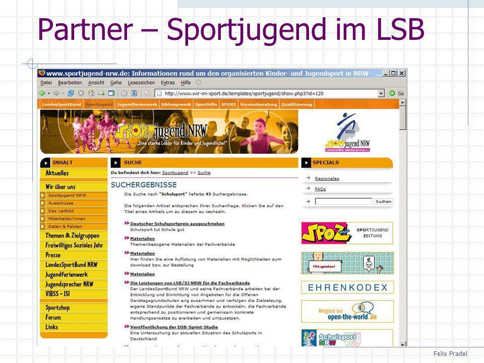 Felix Pradel Partner – Sportjugend im LSB
