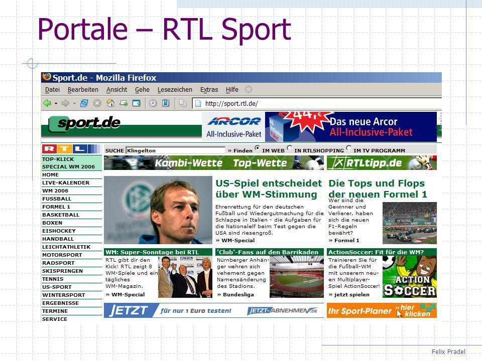 Felix Pradel Sitemap mit Infofeldern I Schulsportentwicklung Struktur Päd.