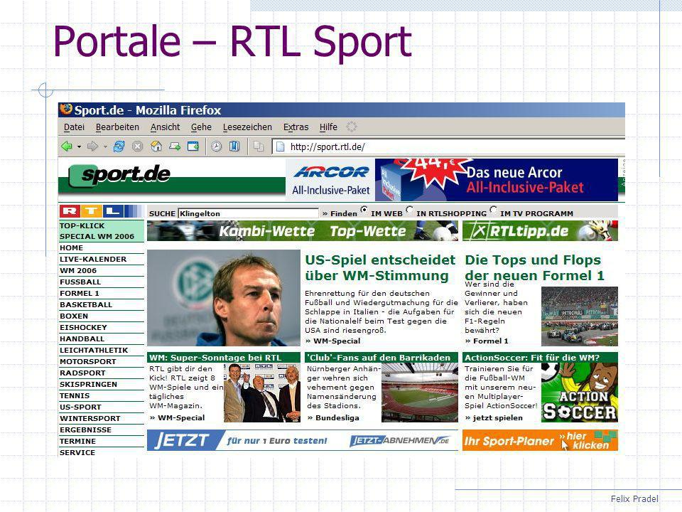 Felix Pradel Portale – RTL Sport