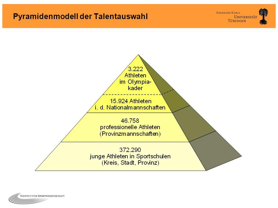 Pyramidenmodell der Talentauswahl