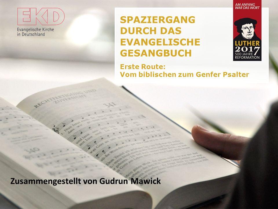 Hinweise Dieser Vortrag ist als Vorlage, Anregung und Steinbruch für Gemeindeveranstaltungen zum Thema Reformation und Musik gedacht. Er kann beliebig