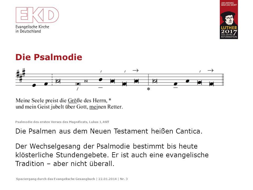 Die Psalmen Der Urgrund christlichen Singens: das biblische Buch der Psalmen. Spaziergang durch das Evangelische Gesangbuch | 22.01.2014 | Nr. 2