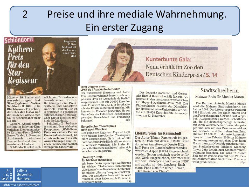 4Der Deutsche Schulsportpreis. Eine vergleichende Analyse