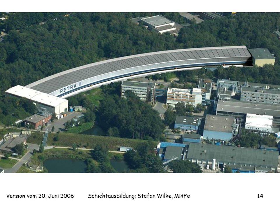 Version vom 20. Juni 2006Schichtausbildung; Stefan Wilke, MHFe14