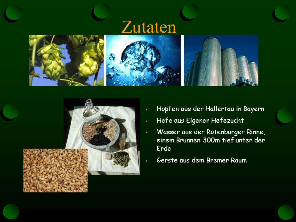 Preise Es gibt verschiedene arten von Hopfen : den Hallertauer Mittelfrüh den Hersbrucker Spät den Spalter den Tettnanger Die Hopfenpreise schwanken sehr stark nach Sorten und Qualitäten.