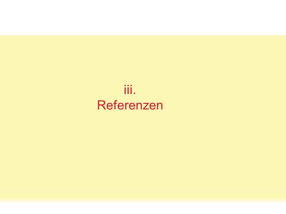 oncampus Oct. 08p. 10 Status Quo: Das Netzwerkvisual. iii. Referenzen