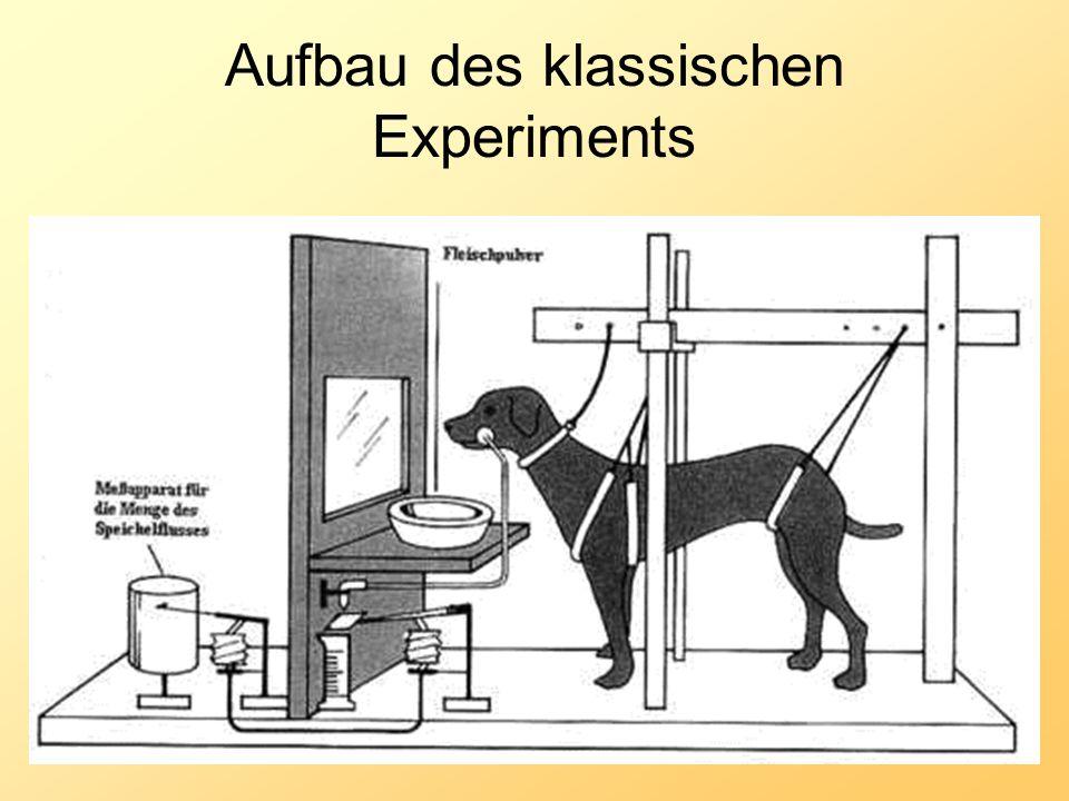 Aufbau des klassischen Experiments