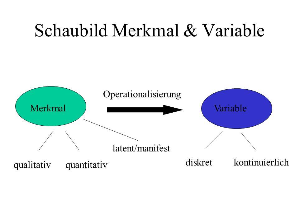 III.Skalenniveaus und ihre Eigenschaften