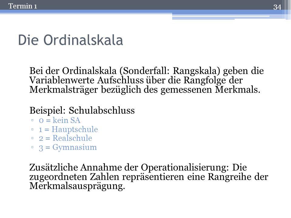 Termin 1 Eineindeutig? Bochum Heidelberg Ulm 1 2 3 Eindeutig: Jedem Element der Menge A kann ein Element der Menge B zugeordnet werden. Eineindeutig: