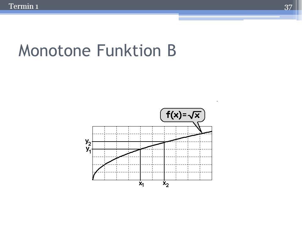 Termin 1 Monotone Funktion A 36