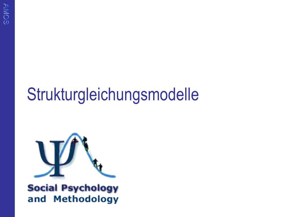 AMOS Strukturgleichungsmodelle