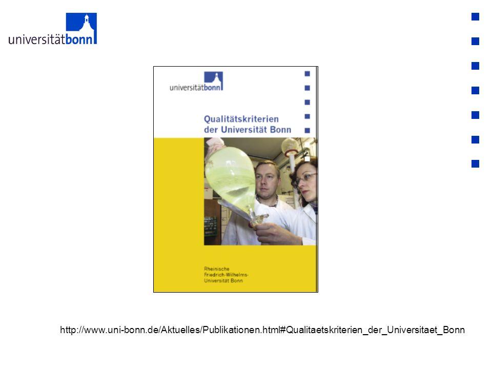 http://www.uni-bonn.de/Aktuelles/Publikationen.html#Qualitaetskriterien_der_Universitaet_Bonn