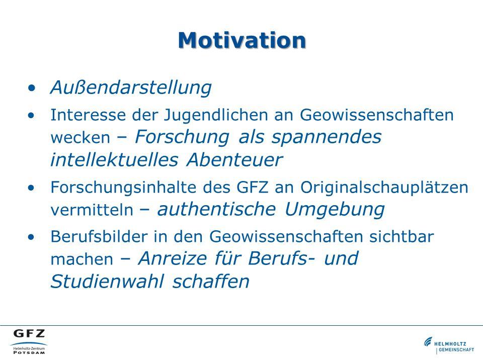 GeoLab - Kontakt E-Mail geolab@gfz-potsdam.de Web http://geolab.gfz-potsdam.de Unterrichtsmaterial http://schule.gfz-potsdam.de