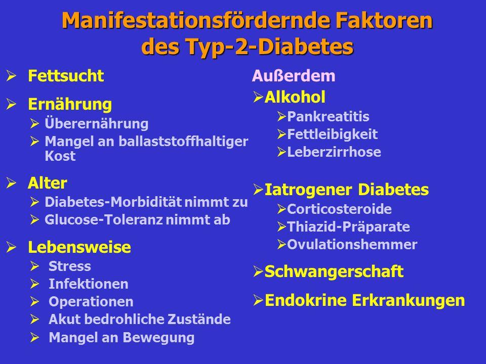 0 10 20 30 40 50 60 70 80 90 Physiologie der Gegenregulation bei Hypoglykämie Gegenregulation Autonome Symptome Blutglucose (mg/dl)