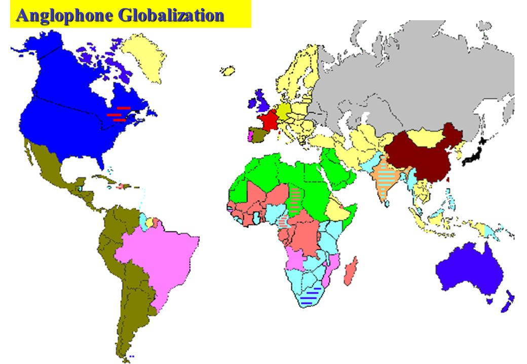 Anglophone Globalization