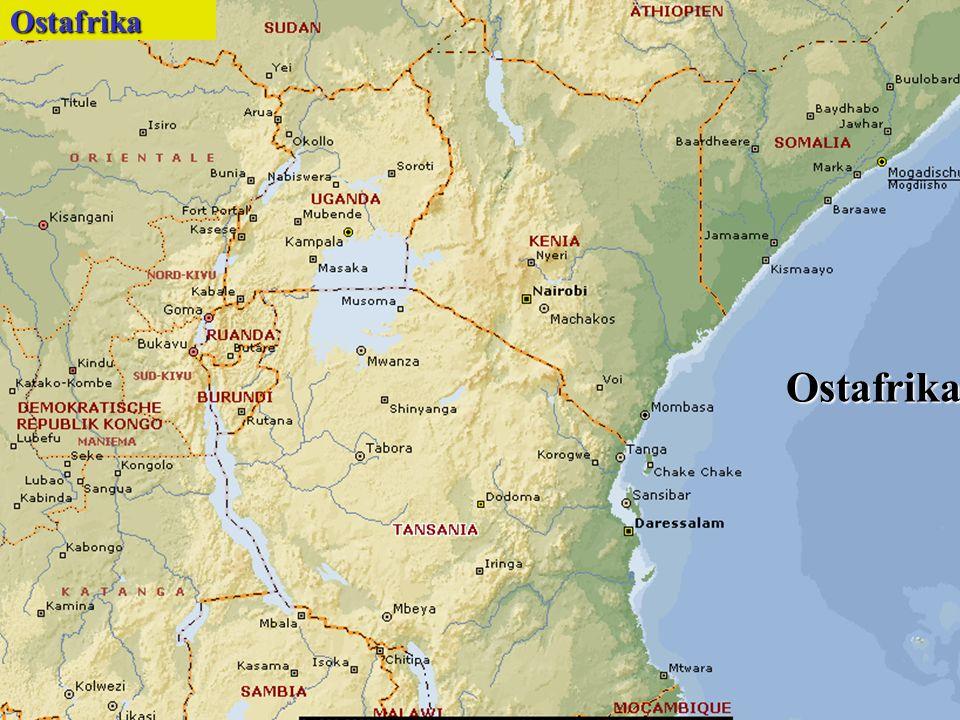 OstafrikaOstafrika