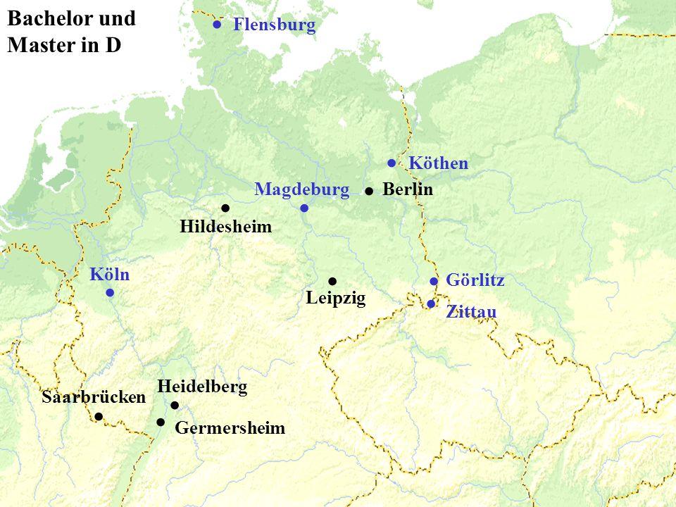 Germersheim Heidelberg Saarbrücken....Leipzig. Flensburg.