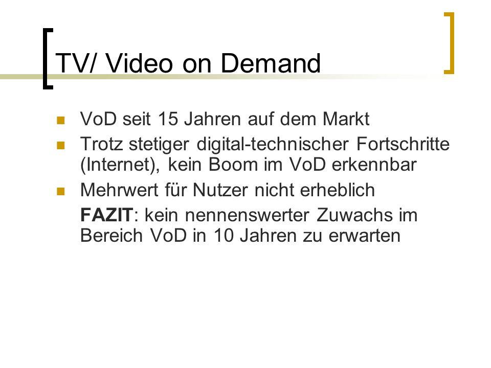 Mobiles Fernsehen (Handy-TV) Überwältigende Mehrheit der Konsumenten stellt die Sinnfrage: Warum Mobile TV.